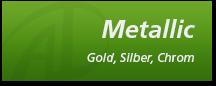 Aufkleber metallic gold, silber