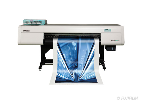 Fotografie des FUJIFILM Acuity LED 1600 Druckers®